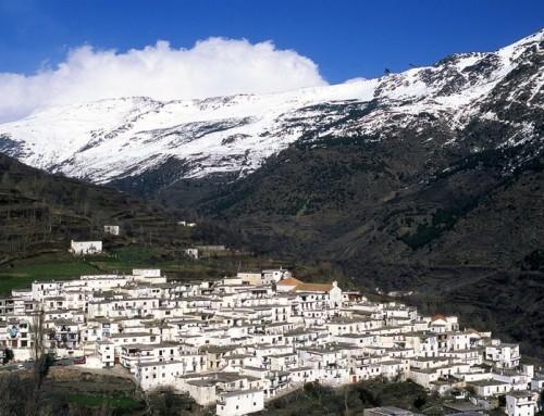 Arquitectura típica de La Alpujarra de Granada